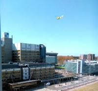 AlbiusdreefLUMC-Traumahelikopter