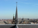 Panorama vanaf dak Pieterskerk