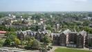 Panorama vanaf LUMC