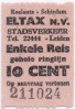 Eltax buskaartje - 2